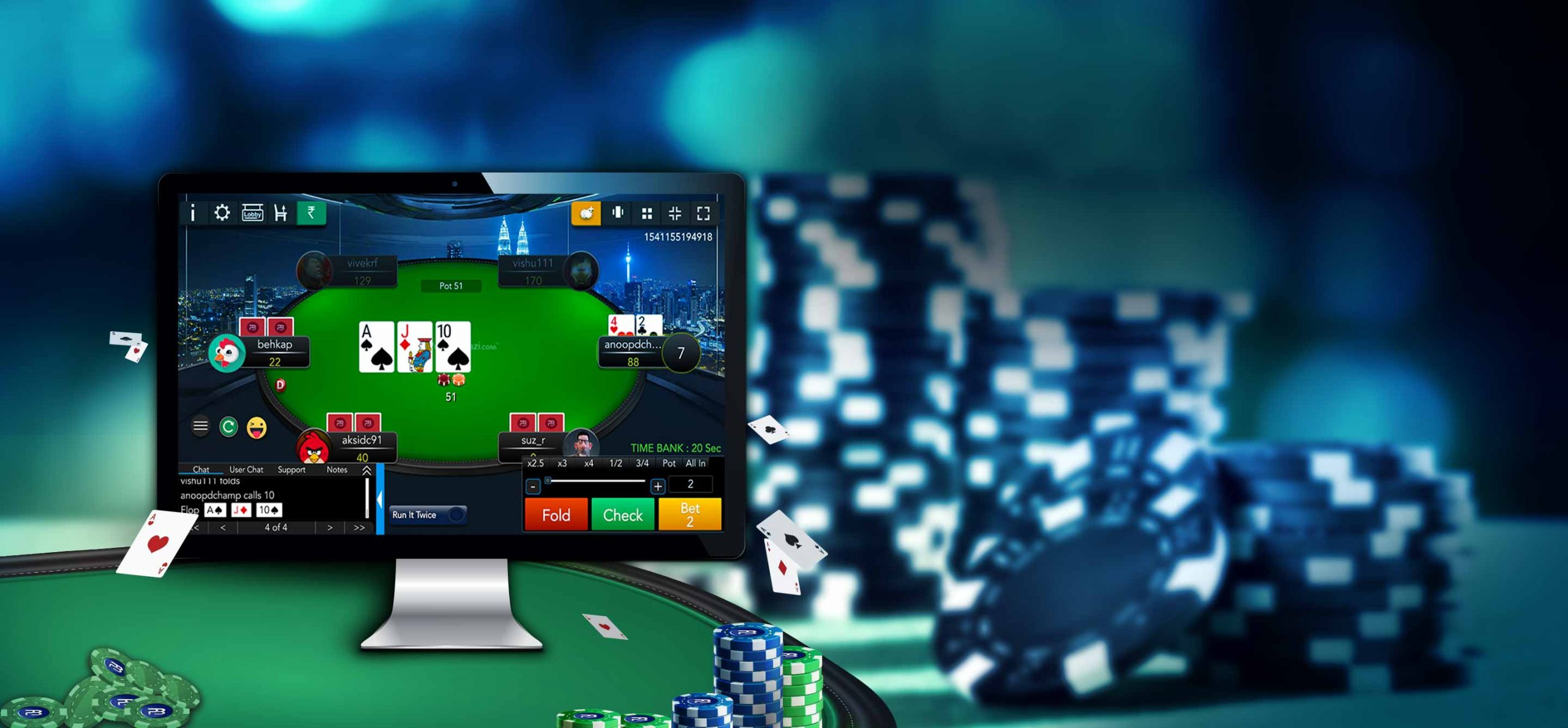 to play live dealer poker